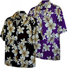 Native Hibiscus Hawaiian Aloha Shirt Made in Hawaii 410 3559
