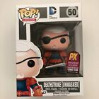 Funko POP DC Comics Deathstroke Unmasked #50 PX Previews Exclusive Edition size