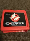 Ghostbusters Plastic Lunch Box Original 1985 Thermos Brand Vintage