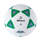 Mikasa Deluxe Soccer Football Futbol Ball Size 5 White With Green SS50 G
