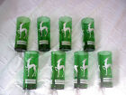 Vntg. 8 Forest Green Gazelle tumblers 6 1/2