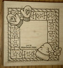 Holiday Border Whipper Snapper Designs L037 New Rubber Stamps