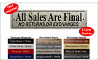 All Sales Are Final No Returns or Exchanges Office Sign Wall sign 2 x 8