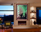 DALE CHIHULY Large Original Acrylic Painting Venetian Signed Artwork Glass oil