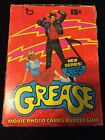 Vintage 1978 TOPPS GREASE SERIES 2 WAX BOX - 36 PACKS Newton-John Travolta