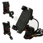Cell Phone Holder With USB Charger for Kawasaki Vulcan Classic 800 900 700 2000