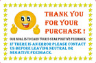 Thank You For Your Purchase Labels 1 Roll Of 100 Thank you Label Stickers 2 x 3