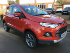 LARGER PHOTOS: 2014 FORD ECOSPORT 1.0 T TITANIUM X-PACK 5D 110 BHP Great Spec 30k Miles Only!
