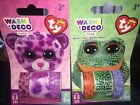 Pink Leopard Glamour & Sococles Frog Speckles TY Beanie Boos Washi Tape Asst Set