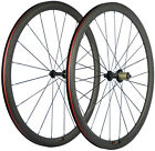38mm Carbon Bike Wheelset Road Bike Clincher Wheels 700C 3K Matte 23mm Width Hub
