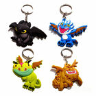 How to Train Your Dragon Toothless Night Fury Keychain Keyring Pendant Toys Gift