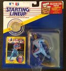 1991 Delino DeShields Starting Lineup  Card/Figure/Box Mint