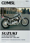 Clymer Repair Manual for Suzuki VS700/VS750/VS800 Intruder, Boulevard S50 M481-6