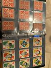 1951 Topps Blue Backs and Red Backs Partial Set
