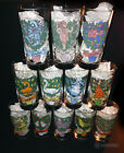 Vintage Anchor Hocking 12 Days of Christmas Drinking Glasses Complete Set Nice