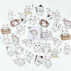 45Pcs Box packed Cute Cat Sticker Decoration Stationery Stickers DIY Diary Label