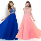 Sequin Prom Ball Gown Maxi Dresses