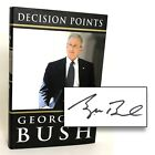 US President George W Bush SIGNED Book Decision Points 1st Edition Print