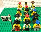 Lego Pirate Themed Minifigure Lot Of 15