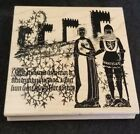 Club Scrap Rubber Stamp Medieval Knight Lady Castle Cosplay Ltd Edition 4850