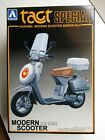 Aoshima 1/12 Scale Honda Tact Special Scooter Model Kit - New #0037768-1200