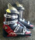 Rossignol Viper 314mm red black and gold downhill ski boots size 8.5 US men's