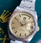 36mm Tudor Oyster Prince Day-Date by **Rolex**  - (Serviced!) 94613 m Gold Bezel