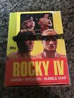 1985 TOPPS ROCKY IV 4 WAX BOX - 36 PACKS PRISTINE CONDITION