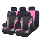 Carpass 11pcs New Washable 7 Colors Universal Car Seat Cover Set For 4060 6040