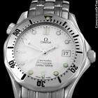 OMEGA Seamaster Midsize 300M White Stainless Steel Divers Watch, Mint - Warranty