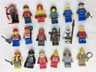 LEGO Minifigures Lot of 18 Misc Minifigures Minifigs Mummy Scuba Boxer Pirate
