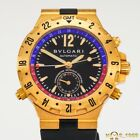 BULGARI  DIAGONO  PROFESSIONAL  GMT 40 G 18K  GOLD  AUTOMATIC  40MM  BOX