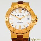 BULGARI  DIAGONO   LCV 38 G  18K YELLOW  GOLD  AUTOMATIC  38MM   MEN'S  B