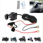 Motorcycle USB Dual Charger For Suzuki Boulevard M50 M90 C50 C90 M109 S40 S83