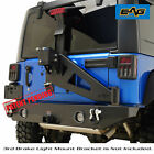 EAG fits 07 18 Jeep Wrangler JK Rear Bumper with Tire Carrier W Linkage