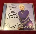 Carol Channing Signed CD For Heavens Sake Broadway Star Legend