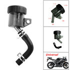 1xMotorcycle Rear Brake Clutch Master Cylinder Fluid Reservoir Cool Oil Tank Cap