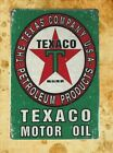 US Seller- Texaco motor oil tin metal sign interior decoration ideas for bedroom