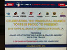 2019 Topps Alliance of American Football Hobby Box - 24 Packs 3 AUTOS