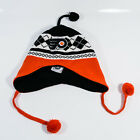 NHL Fan Favorite Philadelphia Flyers Orange Black Winter Pom Pom Beanie Hat
