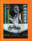 2011 Panini Limited Monikers Gold Ozzie Newsome Autograph 25 Browns
