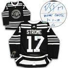 Dylan Strome Chicago Blackhawks 2019 Winter Classic Adidas Authentic Jersey # 17