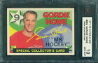 Gordie Howe Cards, Rookie Card Info and Autographed Memorabilia Guide 12