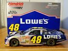 2002 Jimmie Johnson 48 Lowes Blue Chrome Team Caliber Owners Lowes 124