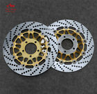 Floating Front Brake Disc Rotor For Suzuki GSX-R400 GK76A 90-93 95 GSX750 98-03