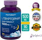 L-TRYPTOPHAN 1000 mg 180 Capsules Amino Acid Supplement Sleep Aid Formula Mood