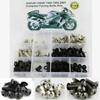 For 1999-2007 Suzuki GSX1300R Hayabusa Complete Fairing Bolts Body Screws Kit