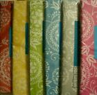 VARIOUS SIZES COLORS EMBROIDERY FLORAL VINYL FLANNEL TABLECLOTHS ELRENE