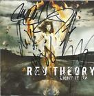 REV THEORY Light It Up CD 2008 Interscope   Signed Autographed by all