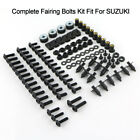 Complete Fairing Bolts Kit For Suzuki GSX-R600 GSX-R750 GSX-R1000 GSX1300R SV650